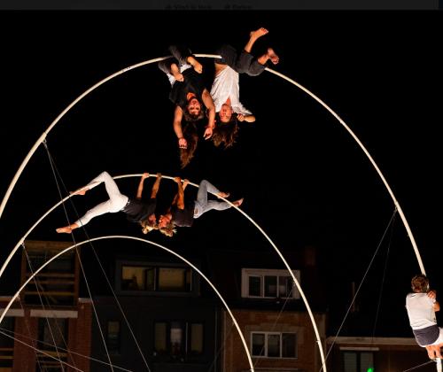 Cirk! Of de acrobatie van het verbinden